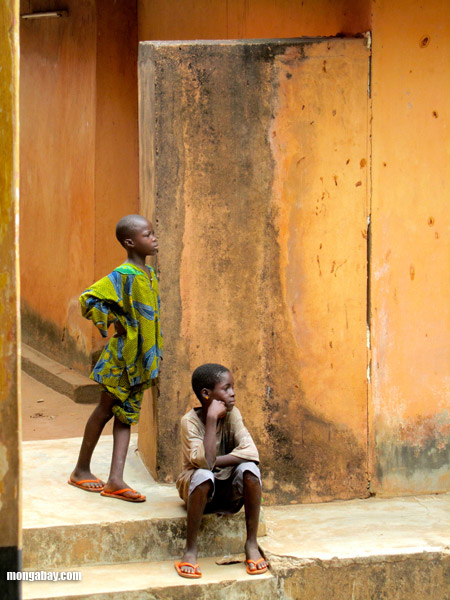 Boys in the Republic of the Congo. Photo by: Nancy Butler.