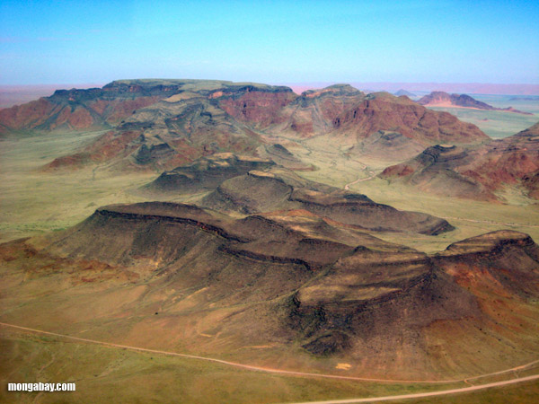 Mountains in the Namibian Desert
