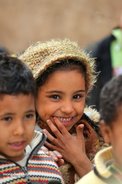 Girl in Egypt. Photo by: Rhett A. Butler.