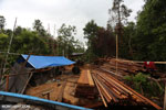Illegal sawmill near the project site. Photo taken in March 2013 by Rhett A. Butler