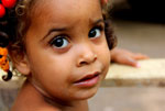 A child from the village of Mencia in the Pedernales Province of the Dominican Republic.
