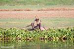 Malagasy man fishing [madagascar_ankarafantsika_0593]