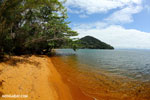 Beach on Nosy Mangabe [madagascar_maroantsetra_0189]