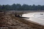 Villagers fishing on a beach in Maroantsetra [madagascar_maroantsetra_0274]