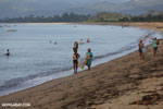 Villagers fishing on a beach in Maroantsetra [madagascar_maroantsetra_0287]