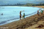Villagers fishing on a beach in Maroantsetra [madagascar_maroantsetra_0288]