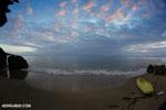 Sunset on a Masoala Peninsula beach