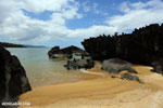 Boulders on a beach in Tampolo Marine Park on the Masoala Peninsula [madagascar_masoala_0825]