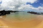 Boulders on a beach in Tampolo Marine Park on the Masoala Peninsula [madagascar_masoala_0839]