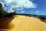 White sand beach on Madagascar's Masoala Peninsula [madagascar_masoala_0878]