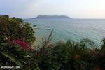 Beach and coast on Nosy Komba as seen from the Jardin Vanille Hotel [madagascar_nosy_komba_0244]
