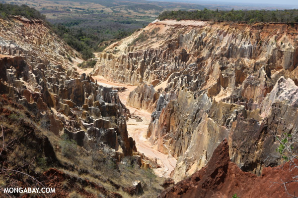 Lavaka of Ankarokaroka
