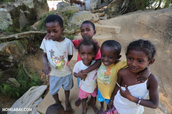 Kids on Nosy Komba