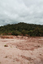 Damage from a graphite mine near Mantandia [madagascar_1101]