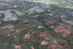 Aerial view of erosion in southern Madagascar [madagascar_3087]