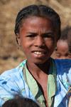 Girl in a Tsaranoro Valley village [madagascar_5993]