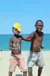 Vezo boys in Arovana (Ankorohoke)