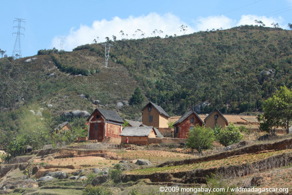 Small village in Madagascar