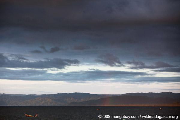 Rainbow over the Bay of Antongil