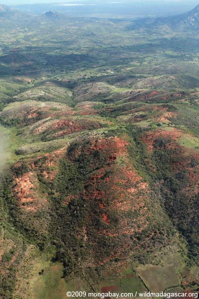 Deforestation near Ft. Dauphin