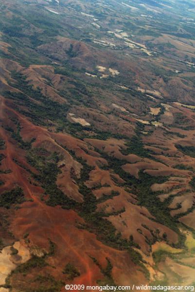 Deforestation in Northern Madagascar