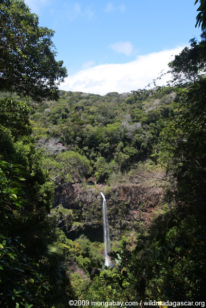 Cascade d'Antomboka (Grande Cascade) [madagascar_3581]