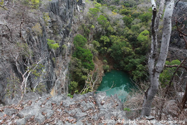 Lac Vert ('Green Lake') in Ankarana