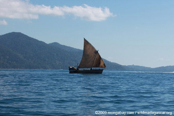 Sailboat in Madagascar