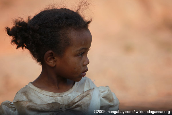 Little Malagasy girl