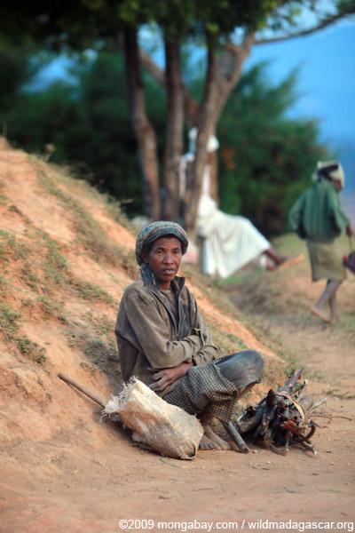 Malagasy woman