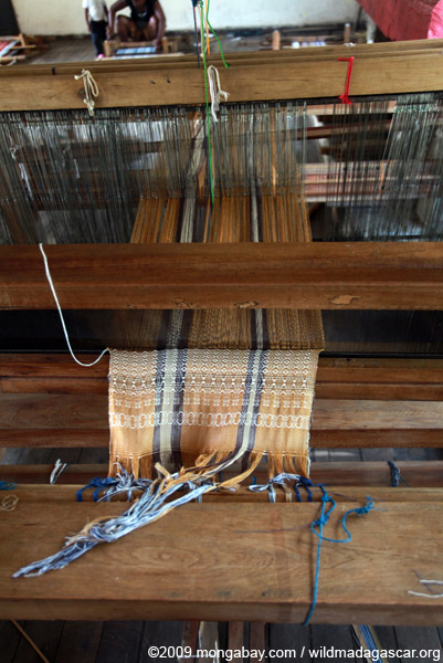 Women's weaving cooperative in Ranomafana