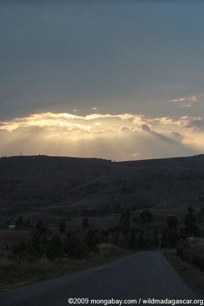 Sunset near Anja