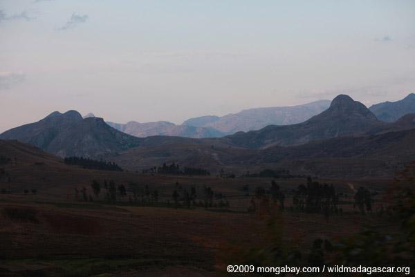 Mountains near Anja