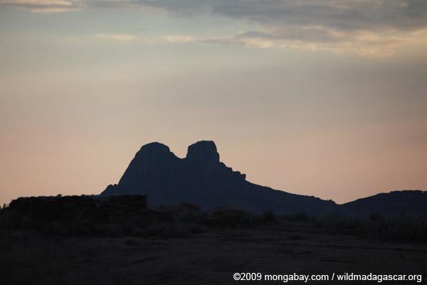 Mountain peak near Andringitra