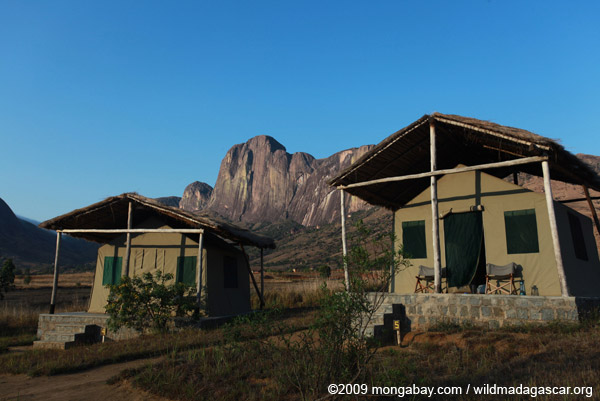 Tsara Camp tents