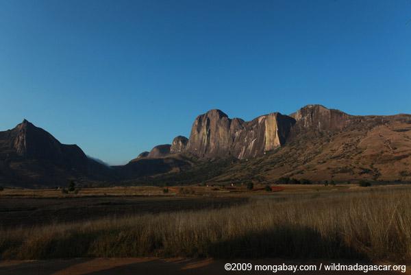 Tsaranoro Mountain