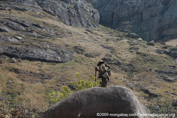 Herder in the Antanifotsy Valley