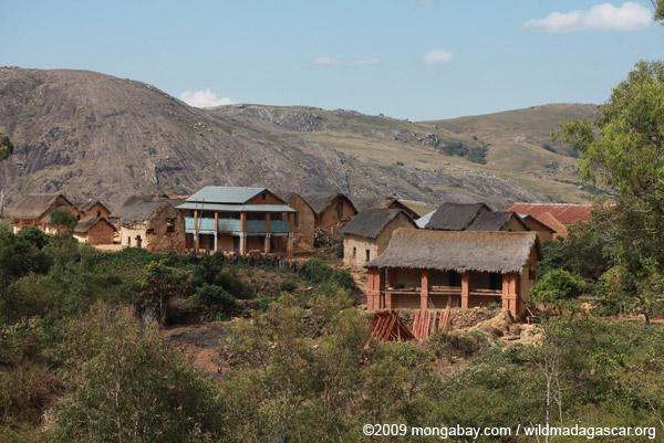 Village in the Antanifotsy Valley