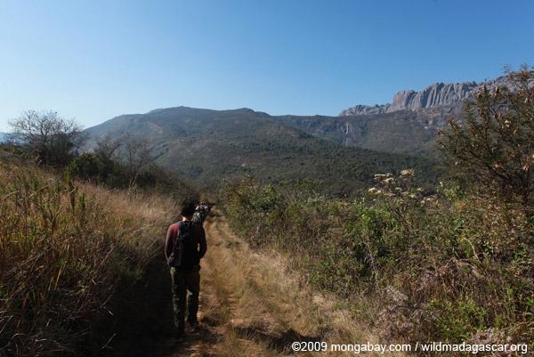 Hiking in Andringitra