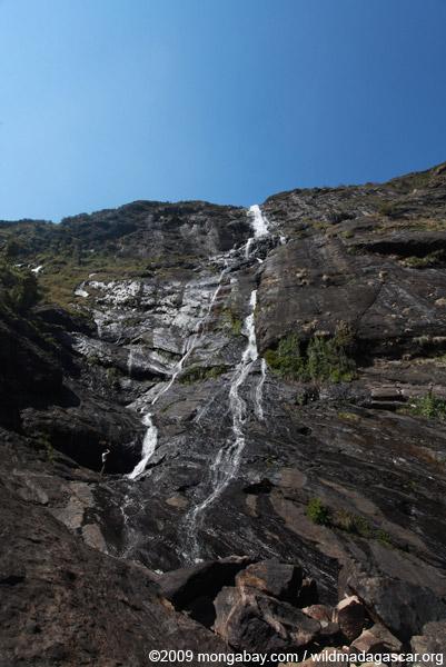Riambavy waterfall of Andringitra