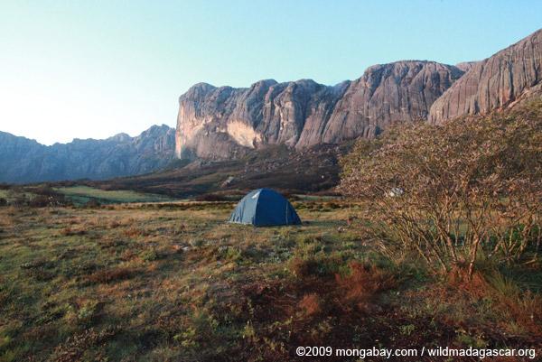 Camping in Andringitra