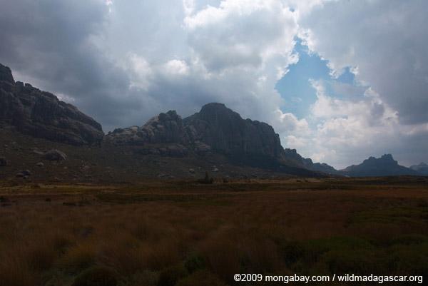 Andringitra's Chaine de Montagne Ampiadrianombilahy