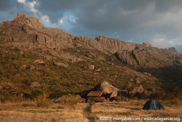 Andringitra camp site