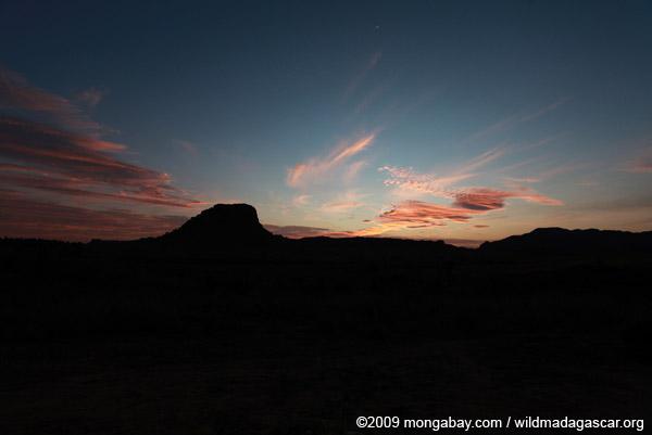 Isalo sunset