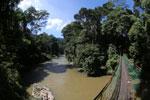 Bridge river over the Danum river