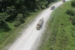 Logging truck in Borneo -- sabah_aerial_0953