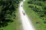 Logging truck in Borneo -- sabah_aerial_0957