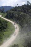 Logging trucks in Borneo -- sabah_aerial_0972