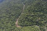 Borneo rainforest river -- sabah_aerial_1141