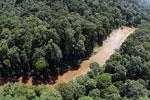 River in Borneo -- sabah_aerial_1566